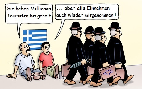 Cartoon: Fraport in GR
